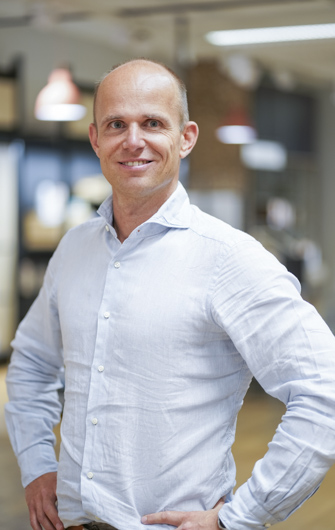 Johan Petersson VD Hestra indredningar